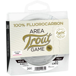 Valas Lucky John Fluorocarbon Area Trout Game Pink 75 m