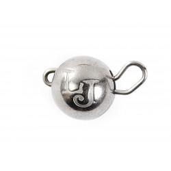 Svarelis volframinis Lucky John Jig Ball Black Nickel 1g - 7 g