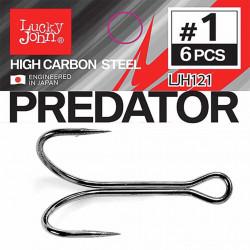 Kabliukai dvišakiai Lucky John Predator LJH121