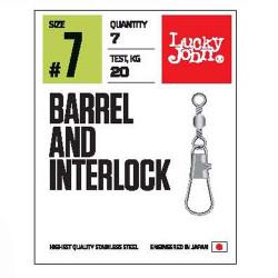 Suktukas su karabinu Lucky John Pro Barrel and Interlock