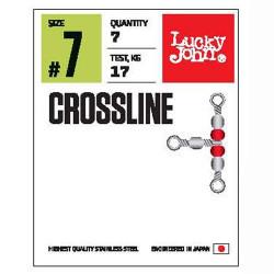 Suktukas trišakis Lucky John Pro Crossline