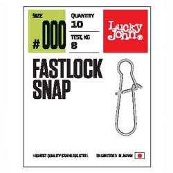 Karabinas Lucky John Pro Fastlock Snap
