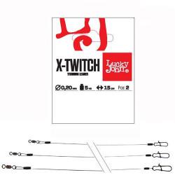 Pavadėlis Lucky John Pro X-Twitch 10 kg