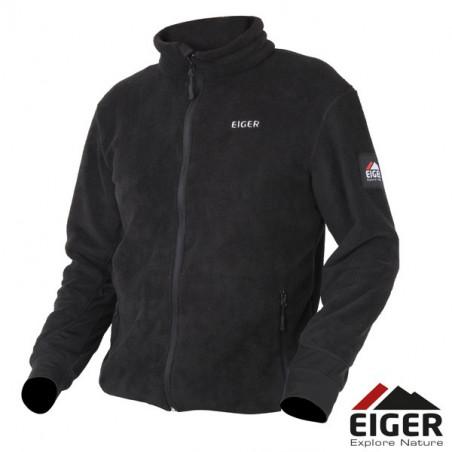 Eiger Thermal Fleece Jacket Black apatinis megztinis