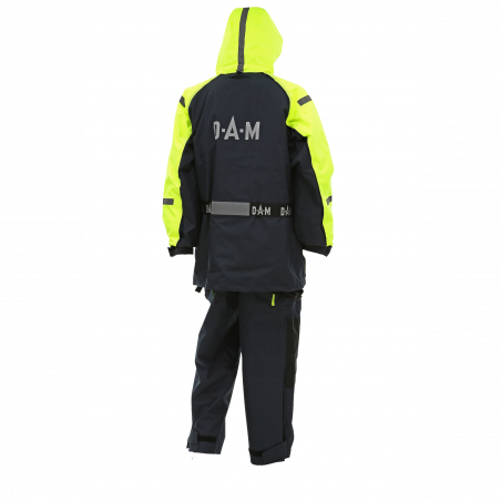 DAM Safety Boat Suit Yellow/Black nęskestantis kostiumas
