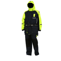 DAM Safety Boat Suit Yellow/Black nęskestantis kostiumas