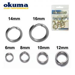 Okuma Split Ring Saltwater žiedeliai
