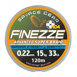 Valas pintas SG Finezze HD4 Braid 120m
