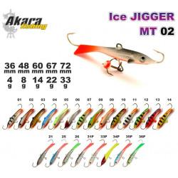 Balansyras-švytuoklė AKARA Ice JIGGER MT 02