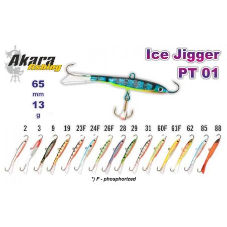 Balansyras-Švytuoklė AKARA Ice JIGGER PRO PT 01 13g