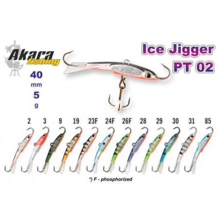 Balansyras-švytuoklė AKARA Ice JIGGER PT 02 5g