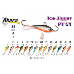 Balansyras-švytuoklė AKARA Ice JIGGER PT 51 4g