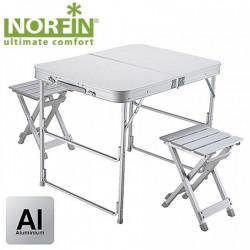 Stalas su kėdėmis Norfin Boren