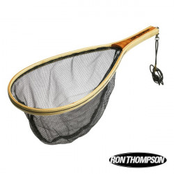 Graibštas R.T. Wooden Trout Net (no kill mesh)