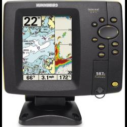 Echolotas Humminbird 587CXi 2-jų spindulių su GPS