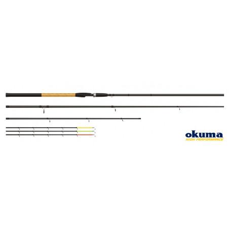 Meškerė Okuma Solitron Feeder 3.60cm, 70g-100g