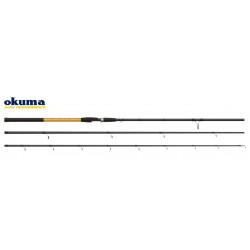 Meškerė Okuma Solitron Match 390cm, 5-25g, 24T Carbon