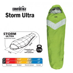 Miegmaišis Comfortika Storm Ultra