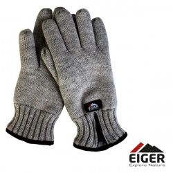 Pirštinės Eiger Knitted Glove w/Zipper Melange