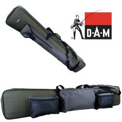 Dėklas meškerėms DAM Rod bag 1.65m metal frame
