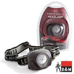 Žibintas ant galvos DAM Fighter PRO Headlamp