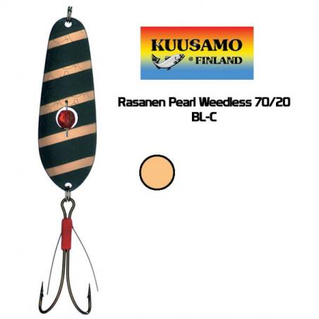 Blizgė Kuusamo Rasanen 70mm/20g žolinė