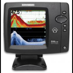 Echolotas Humminbird FishFinder 596cx 2-jų spindulių su HD DI vaizdu