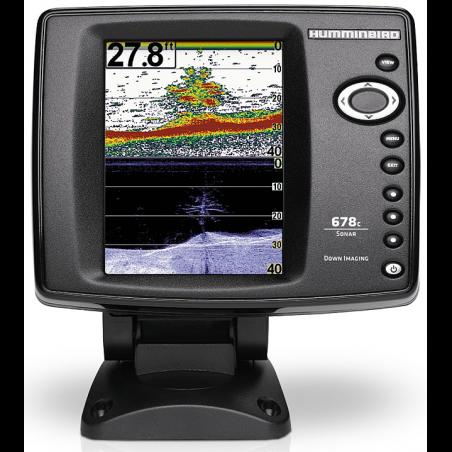 Echolotas Humminbird FishFinder 678cx 2-jų spindulių su HD DI vaizdu