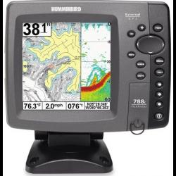 Echolotas Humminbird 788CXi 2-jų spindulių su GPS