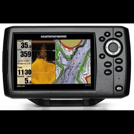 Echolotas Humminbird HELIX 5 DI GPS