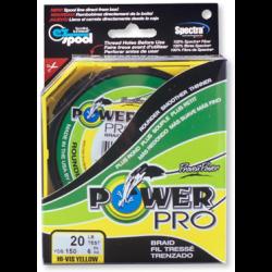 Valas pintas Power Pro 135 m. geltonas