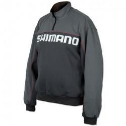 Džemperis Shimano HFG Half zip 02 M-XXL Pilkas