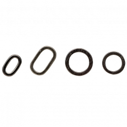 Žiedelių rinkinys MAD Rig Ring 40vnt