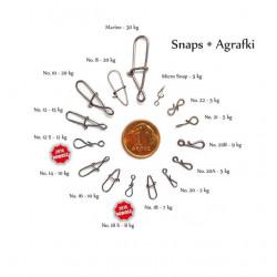 Segtukai Spinwal 10 vnt. Dydžiai: 10-22
