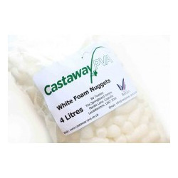 Castaway PVA balti putos gabaliukai 4 litrai