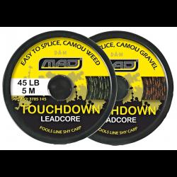 Karpinis Valas MAD Touchdown Leadcore 5m 45lb