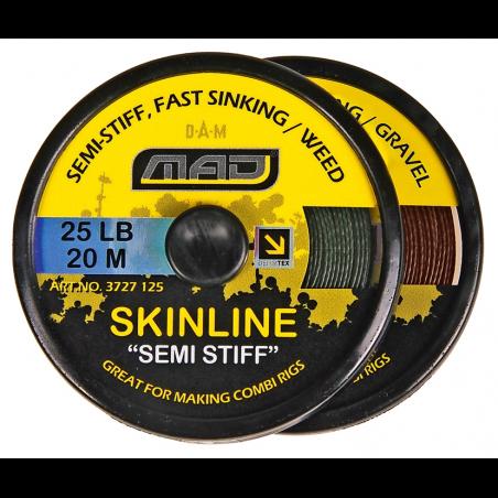 Karpinis valas MAD Skinline Semi Stiff Gravel 20m 25lb