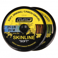 Valas MAD Skinline Soft Camou Gravel 20m 25lb