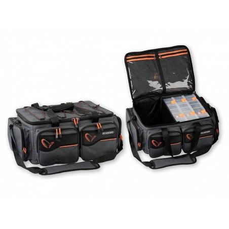 Krepšys masalams SG System Box Bag XL 3 dėutės, apsauga nuo vandens