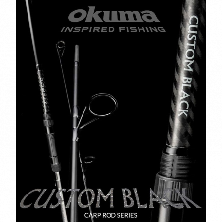 Meškerė Okuma Custom Black 3.60m 3.0lbs 2 dalys
