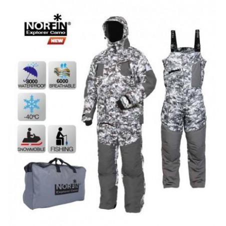 Žieminis kostiumas Norfin Explorer Camo