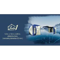 Žieminė palapinė - kubas Luxfish Jurta 1 180 x 180 x 205 cm