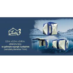 Žieminė palapinė - kubas Luxfish Jurta 3 220 x 220 x 245 cm