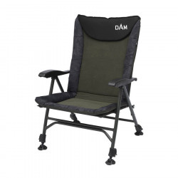 Kėdė Dam Camovision Easy Fold Chair With Armrests Alu