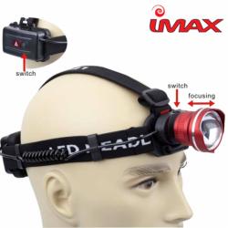 Prožektorius IMAX Sandman Headlamp 600 Lumens